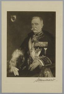 Portret van de heer M. Merens, Consul-Generaal van het Koninkrijk der Serviërs, Kroaten en Slovenen