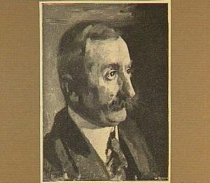 Portret van de schilder Etienne Bosch