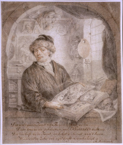 Portret van Jacob Moelaert (1649-ca. 1727)