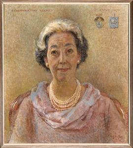 Portret van Dorothea van Reenen (1916-2006)