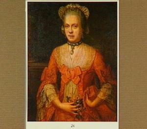 Portret van Cornelia Smits, echtgenote van Guilliaem van  Alvarez