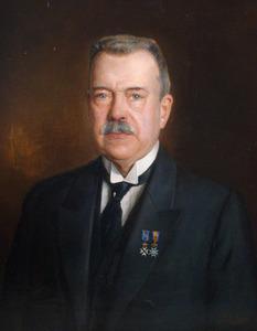 Portret van Allard Gerrit Anton Everts (1856-1937)