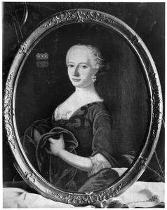 Portret van Maria Gerardina Wittert tot Hoogland (1718-1757)