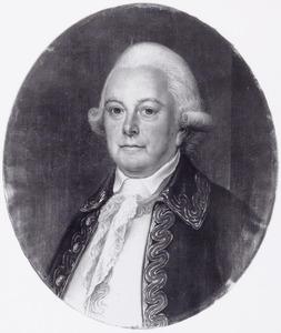 Portret van Adriaan David van der Gon (1717-1792)