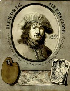 Portret van Hendrick Heerschop (....-1690)