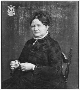 Portret van Femke Feenstra (1827-1900)