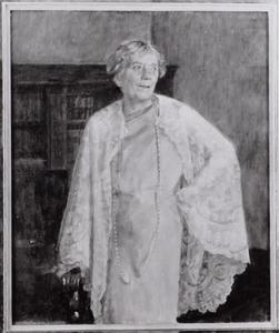 Portret van Jacoba Philippina Sandberg (1876-1976)