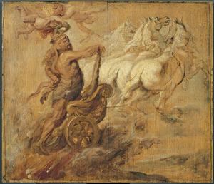 De apotheose van Hercules (Ovidius, Metamorfosen, IX, 268-272)