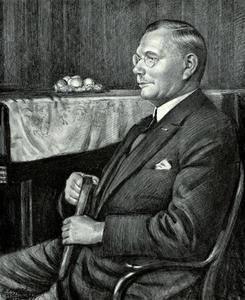 Portret van Charles Johannes de Vilder (1862-1932)