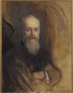 Portret van Theodorus Helenus Franciscus van Riemsdijk (1848-1923)
