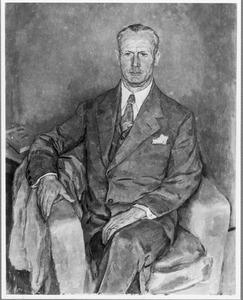 Portret van C.N.J. Moltzer jr. (1875-1945)