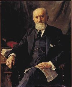 Portret Sylvain Kahn (1857-1929)