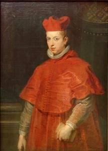 Portret van Ferdinand, kardinaal-infant van Spanje (1609-1641)