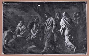 De genezing van de blind geboren man (Johannes 9)