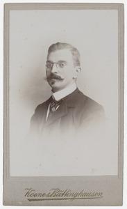 Portret van Johan Christoffel Tjeenk Willink (1876-1964)