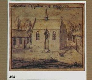 Zellik, de Sint Corijns-kapel