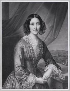 Portret van Jacoba Christina toe Laer (1811-1897)