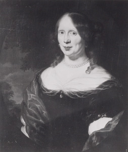 Portret van Sara Ingelbrechts (1636-1711)