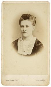 Portret van Hillegonda Catharina Sykens (1845-1926)