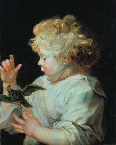 Portret van een jongetje, mogelijk Albert Rubens |1614-1657), zoon van de kunstenaar