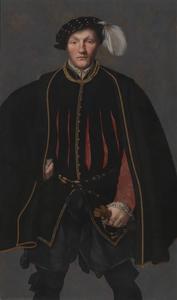 Portret van een heer, waarschijnlijk van de West-familie