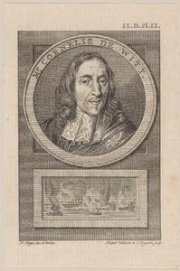Portret van Cornelis de Witt (1623-1674)