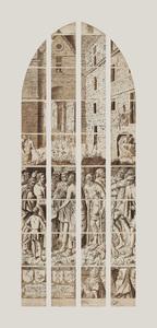 De vraag vanwege Johannes de Doper aan Jezus (carton 18)