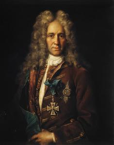 Portret van graaf Gavriil Ivanovich Golovkin (1660–1734)