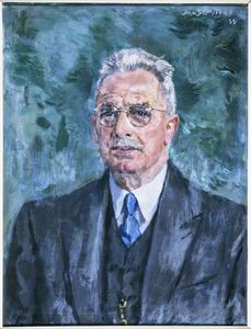 Portret van Jan van den Tempel (1877-1955)