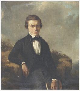 Zelfportret van David Bles (1821-1899)