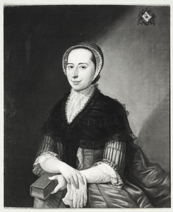 Portret van Johanna Maria Elisabeth Strick van Linschoten (1737-1803)