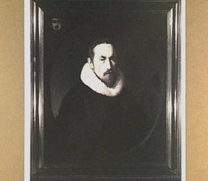 Portret van Assuerus Matthisius (1593-1651), predikant te Rotterdam