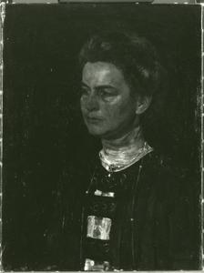 Portret van mevrouw H. Kröller