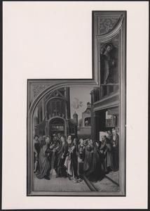 Het huwelijk tussen Jozef en Maria, de droom van Jozef, H. Bernardino