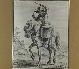 Trommelaar te paard