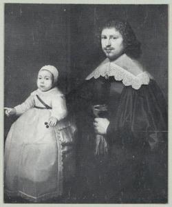 Dubbelportret van een man en een kind