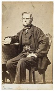 Portret van Cornelius Dasse Viëtor (1826-1889)