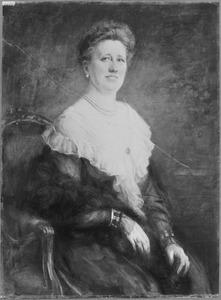 Portret van Wilhelmina Johanna Everard (1868-1956)