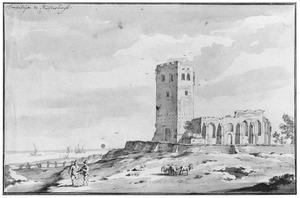 Muiderberg, ruïne van de kerk