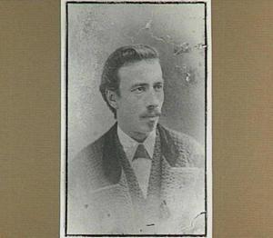 Portret van de kunstenaar Cornelis Johan Laarman