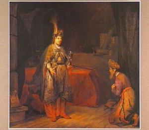 Juda smeekt Jozef om Benjamins terugkeer (Genesis 44:18-34)