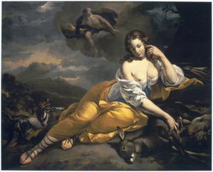 Callisto en Jupiter