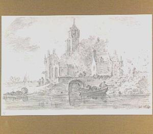 Stad aan een rivier