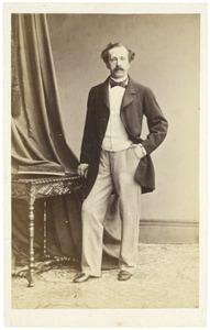 Portret van Eduard Quarles van Ufford (1818-1903)