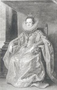 Portret van koningin Constance van Polen (1588-1631)