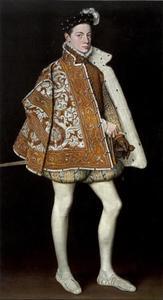 Portret van Alexander Farnese (1545-1592)