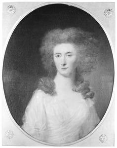 Portret van Jacoba Sara Justine Francoise van Lynden (1762-1840)
