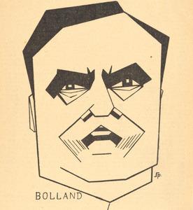 Portret van Gerardus Johannes Petrus Josephus Bolland (1854-1922)