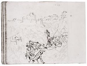 De ontdekking van de moord op Holofernes