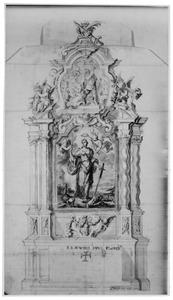 Ontwerp voor een H. Barbara-altaar